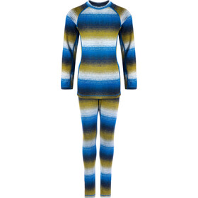 Reima Taival Thermal Baselayer Set Kinder brave blue